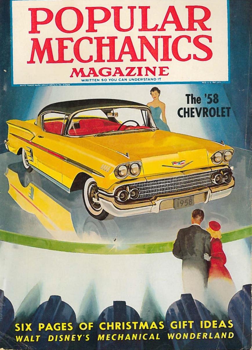 Popular Mechanics Cover, November 1957