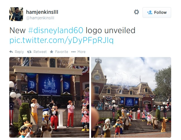 The Logo Reveal At Disneyland