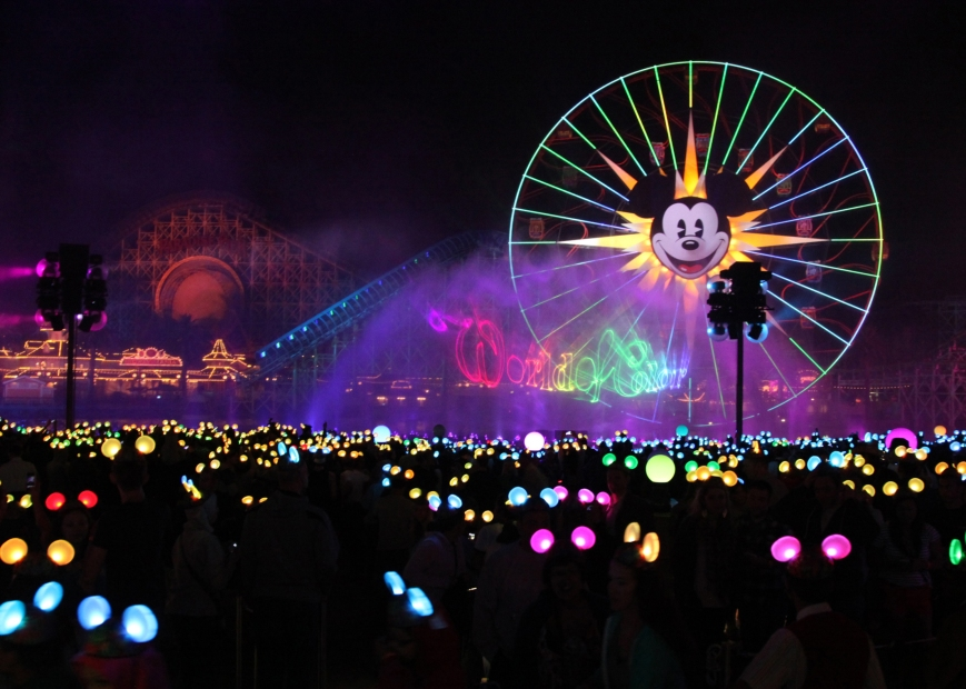 World of Color, Picture copyright The Walt Disney Company