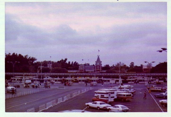 A view from Disney California Adven...er... the parking lot, circa 1974