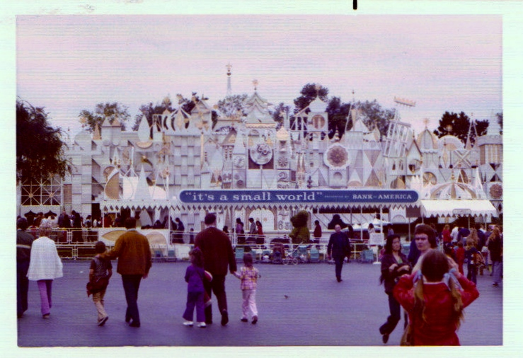 It's a Small World in all of its 1974 glory!
