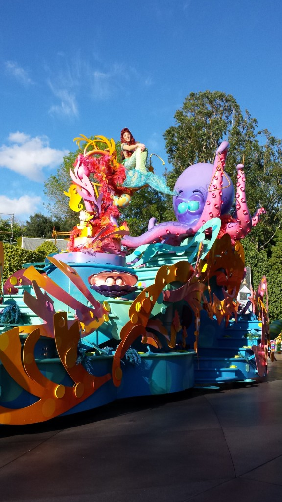 Flipping Your Fins, You Don't Get Too Far... Unless You Have an Awesome Parade Float!