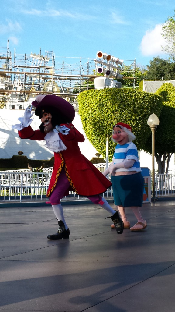 Either Hook is Searching For Something, or Smee Just Tripped Him!