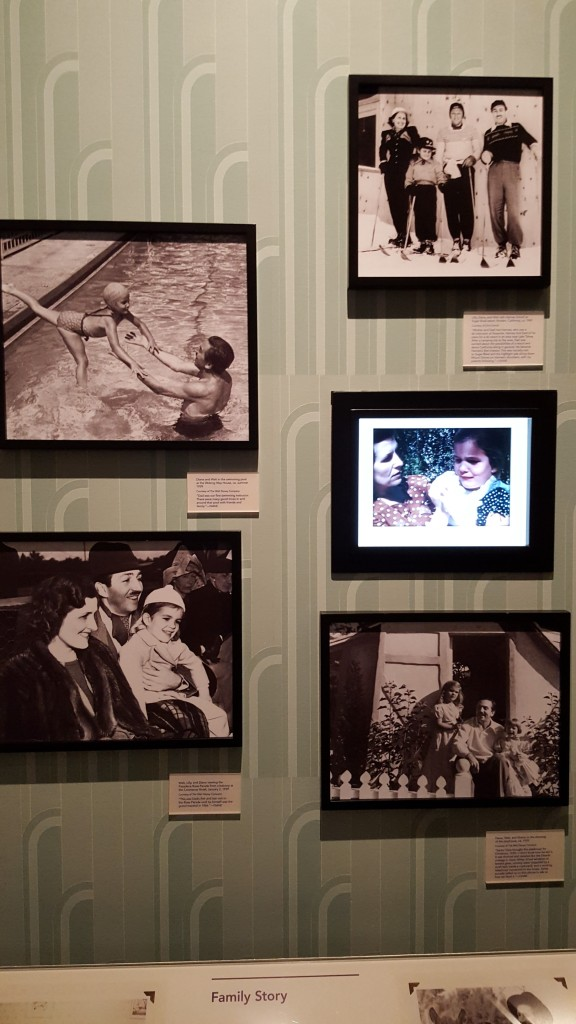 "Walt Disney, family man. Throughout the museum, the Disney ""Family Story"" is displayed, rich with family history, Walt's personal hobbies & tastes, making sure the public gets a great insight of the man beyond company history."