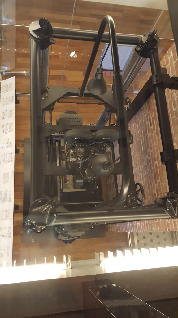 A view from above - the Multiplane Camera, first used in Walt Disney's Silly Symphony: The Old Mill