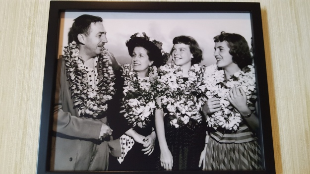 On a Hawaiian vacation with wife Lillian, and daughters Sharon and Diane. Walt the traveler: A man after my own heart!